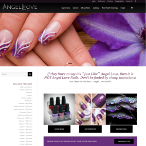 Angel Love Nails Cover Sheet
