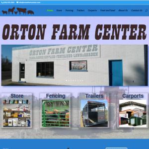 Orton Farm Center Cover Sheet