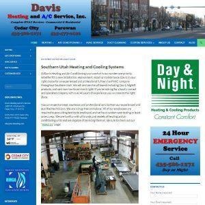 Davis Heating & AC Service, Inc. cover sheet