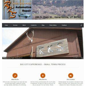 RKS Automotive Repair cover sheet