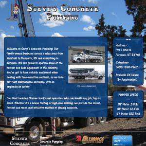 Steve's Concrete Pumping Cover Sheet